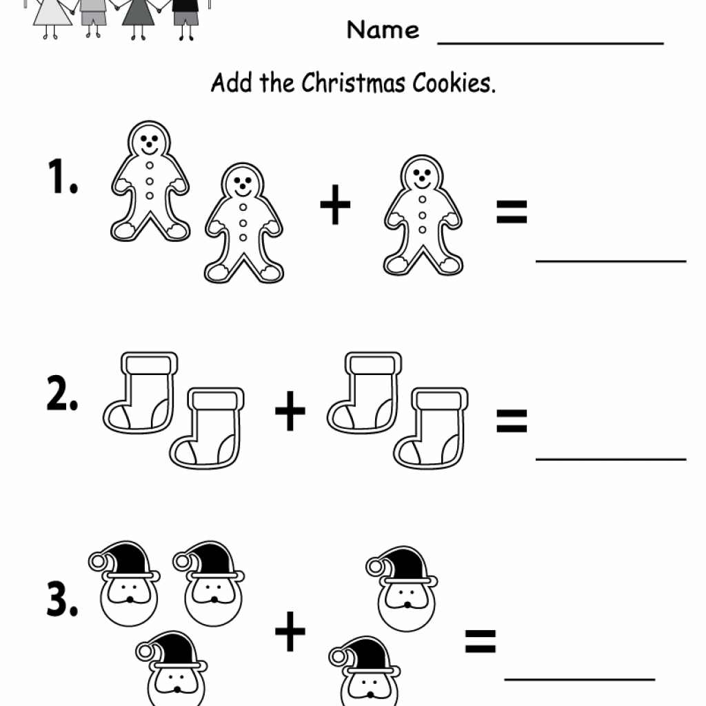 Christmas Coloring Pages With Math Problems Free Printable Holiday Worksheets Cookies Worksheet