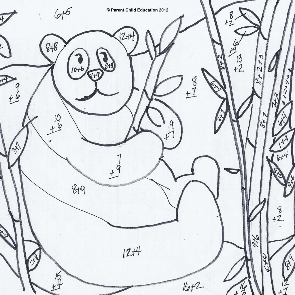 Christmas Coloring Pages With Multiplication For Fourth Grade Fresh
