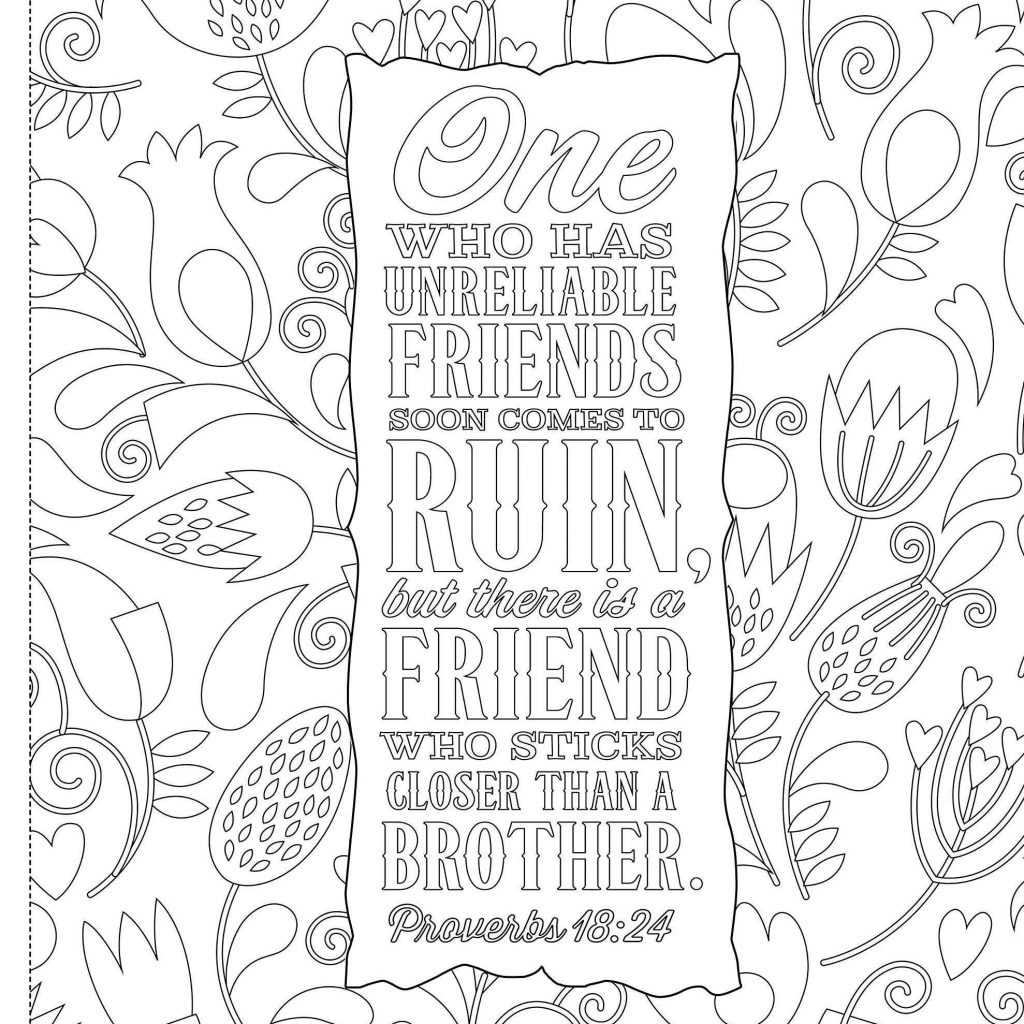 Christmas Coloring Pages With Scripture Bible Verse About Tree Lovely