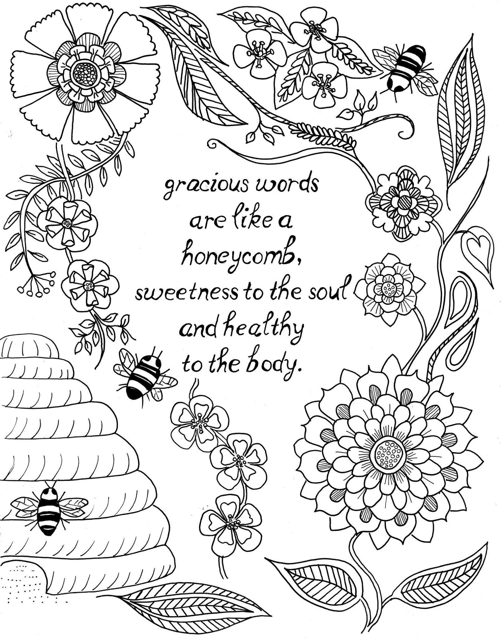 Christmas Coloring Pages With Scripture For Adults Pdf
