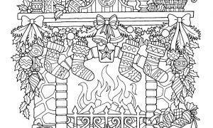 christmas-coloring-pages-with-words-12-free-drawings