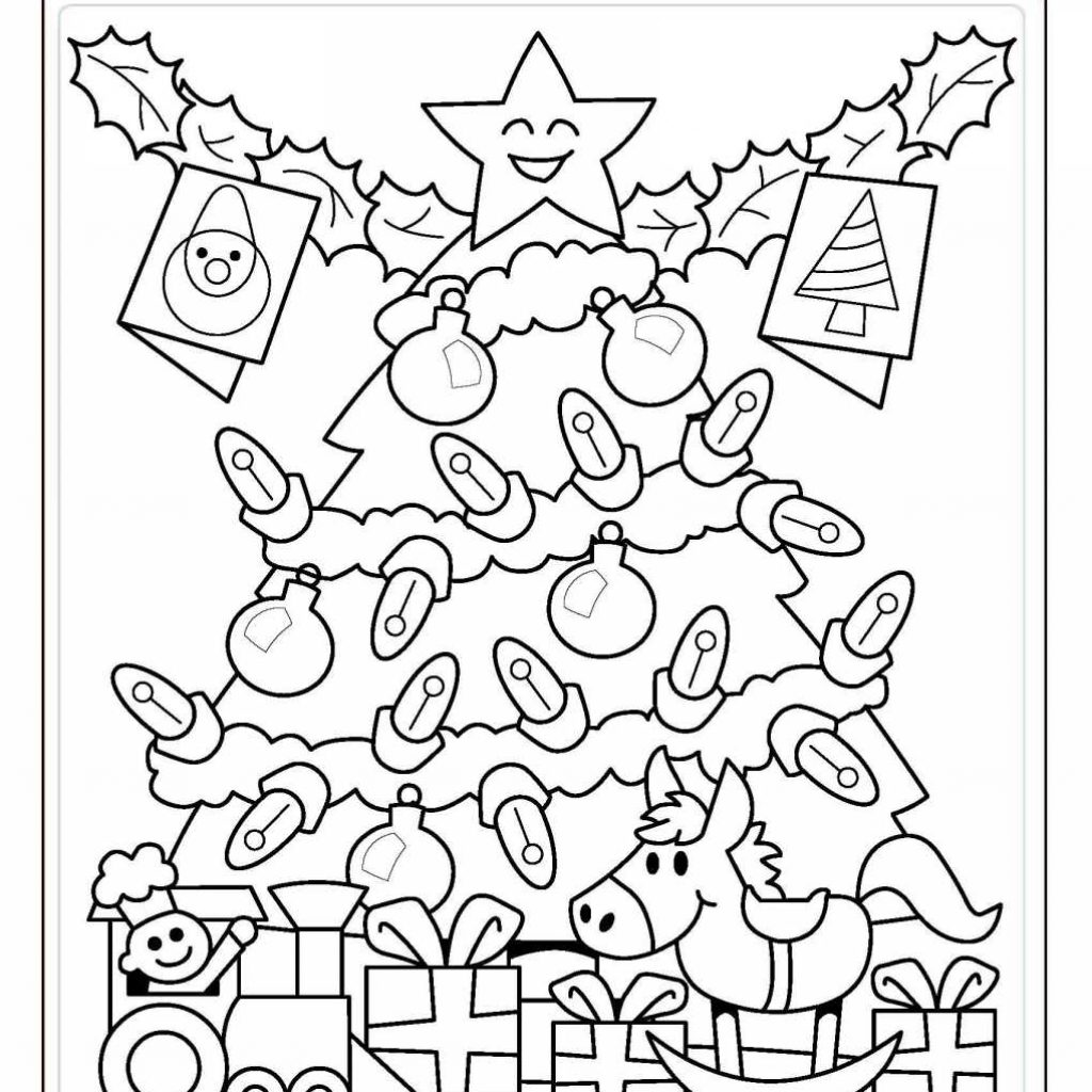 Christmas Coloring Pages Worksheets With Chronicles Network