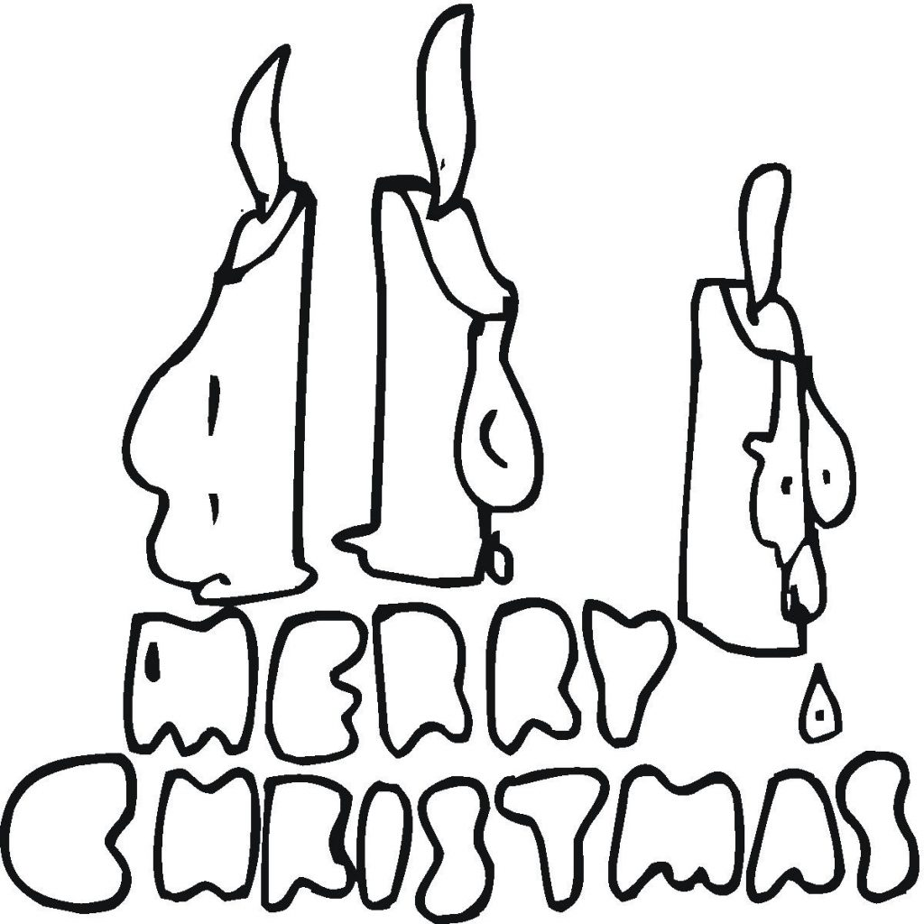 Christmas Coloring Pages Ws With Page From Santas Workshop Merry