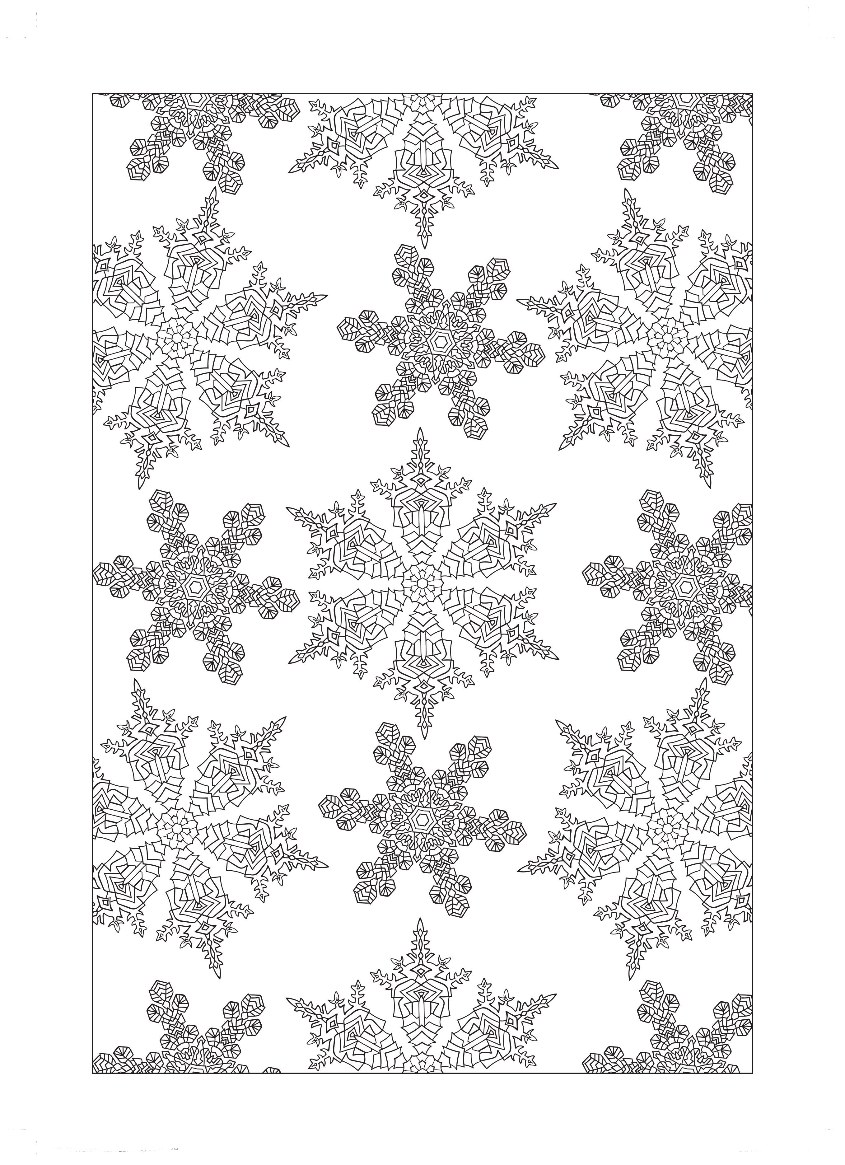 Christmas Coloring Patterns With Free Colouring Sheets Drawing Pinterest