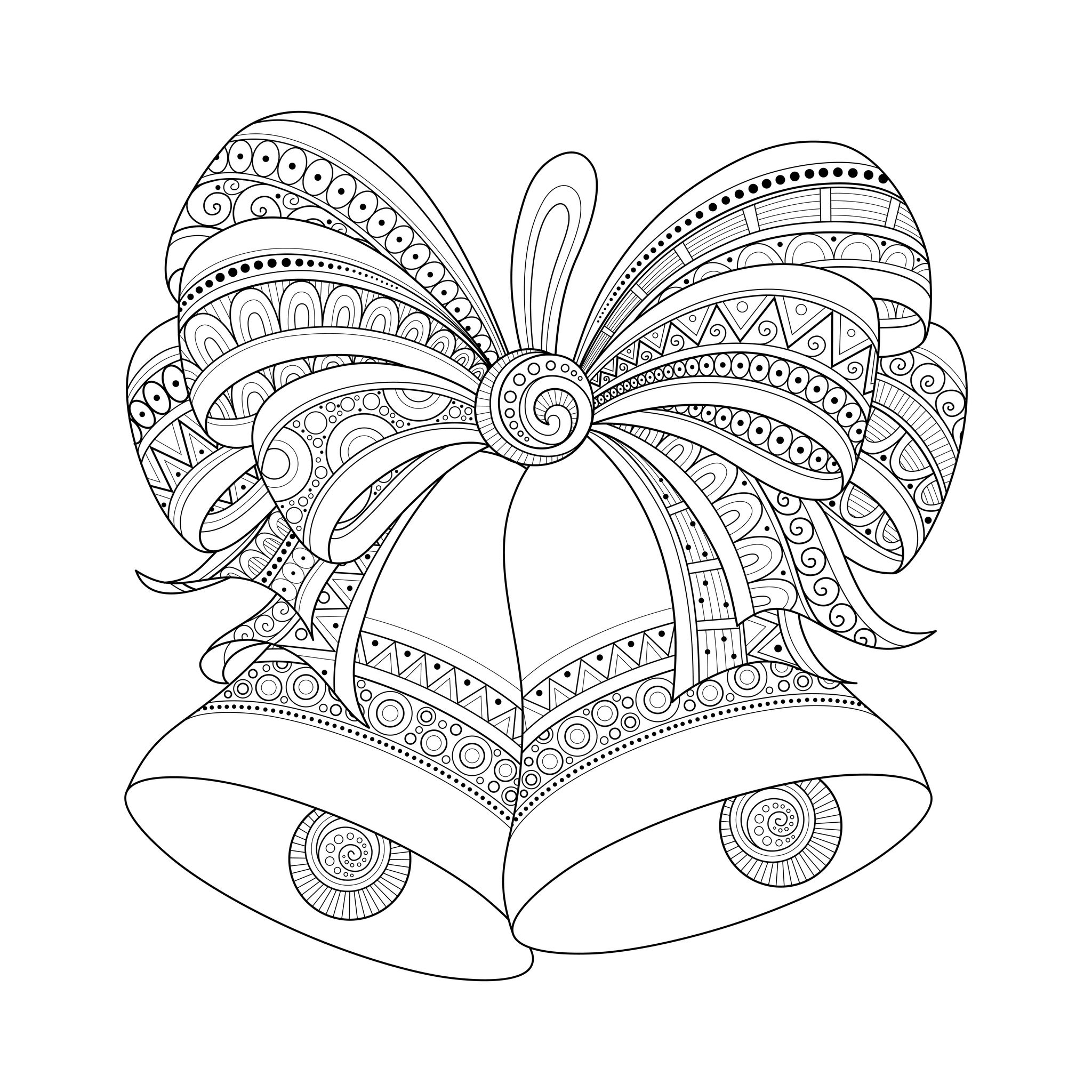 Christmas Coloring Pictures For Adults With Pages Pdf Download Free Books