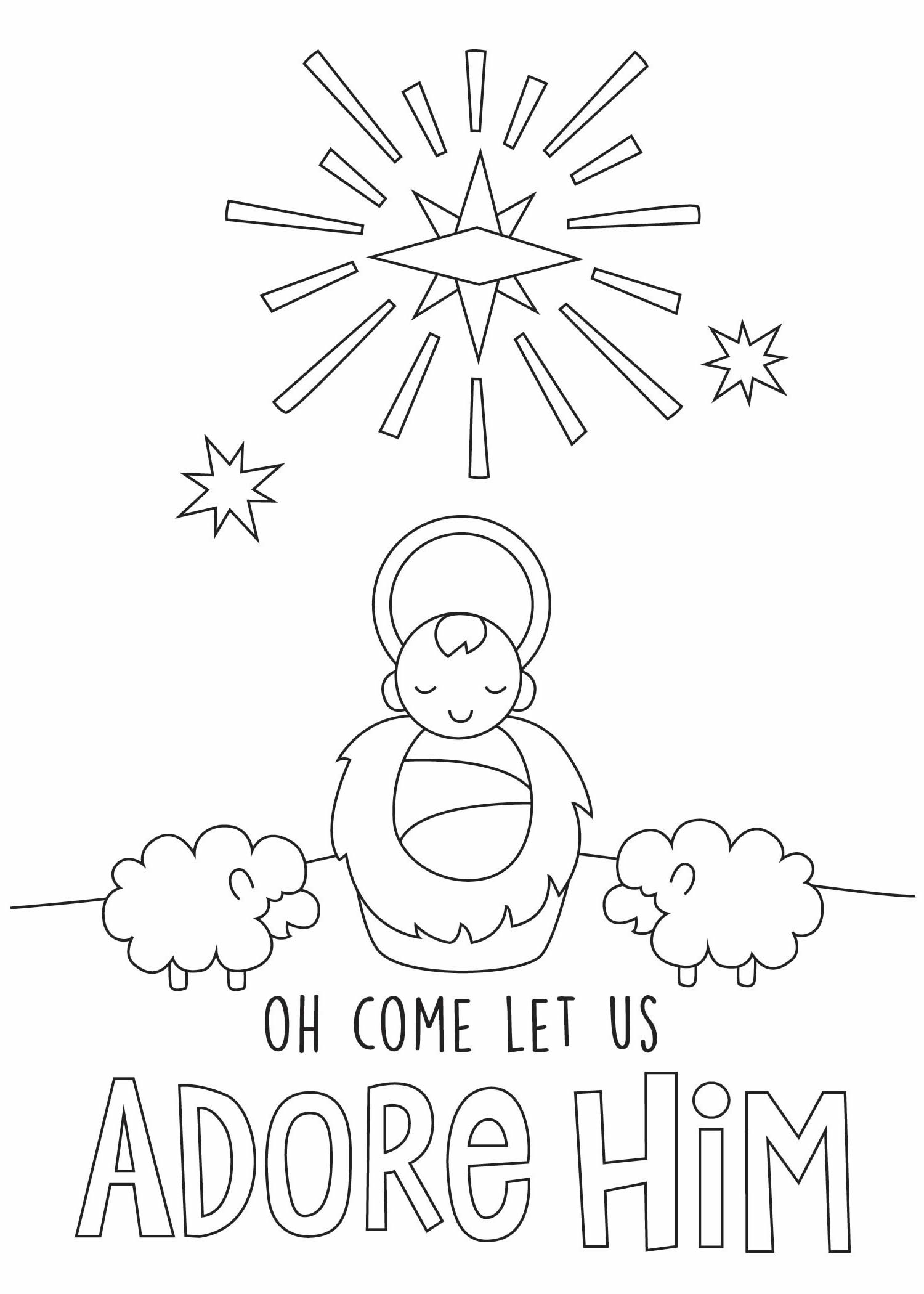 Christmas Coloring Postcards With Cards Prayer Is Good