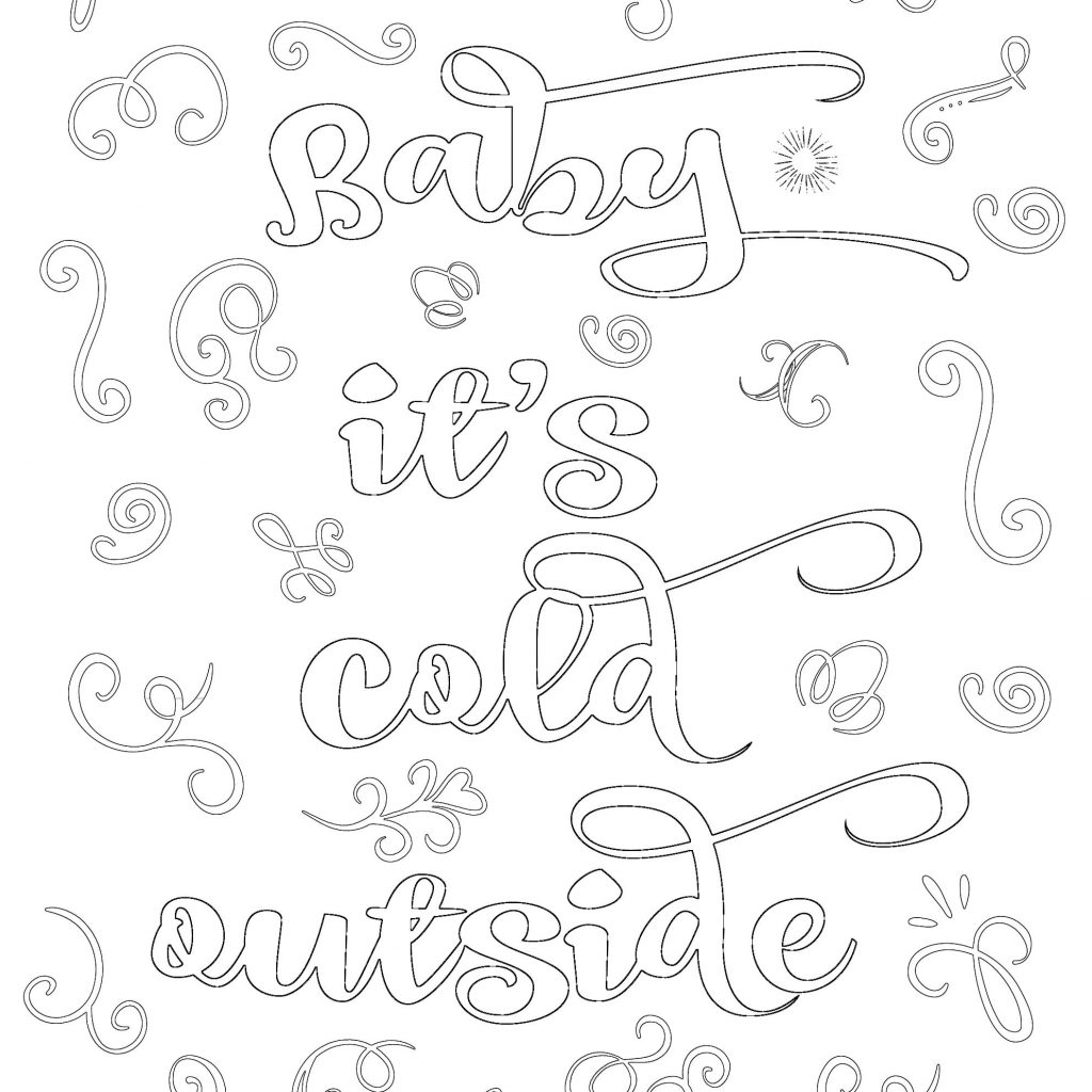 Christmas Coloring Printable Sheets With Free Sarah Titus