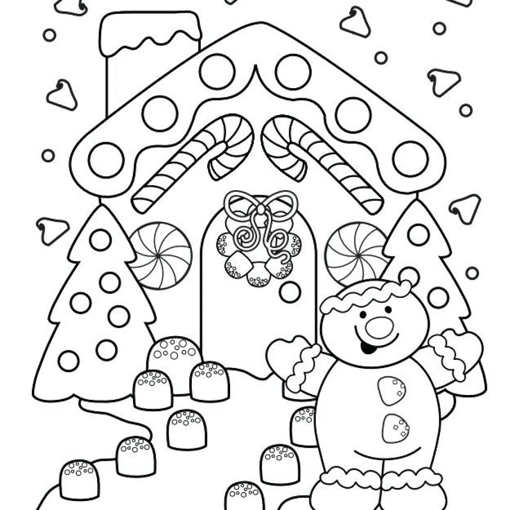 Christmas Coloring Printables Free With Color Pages Online