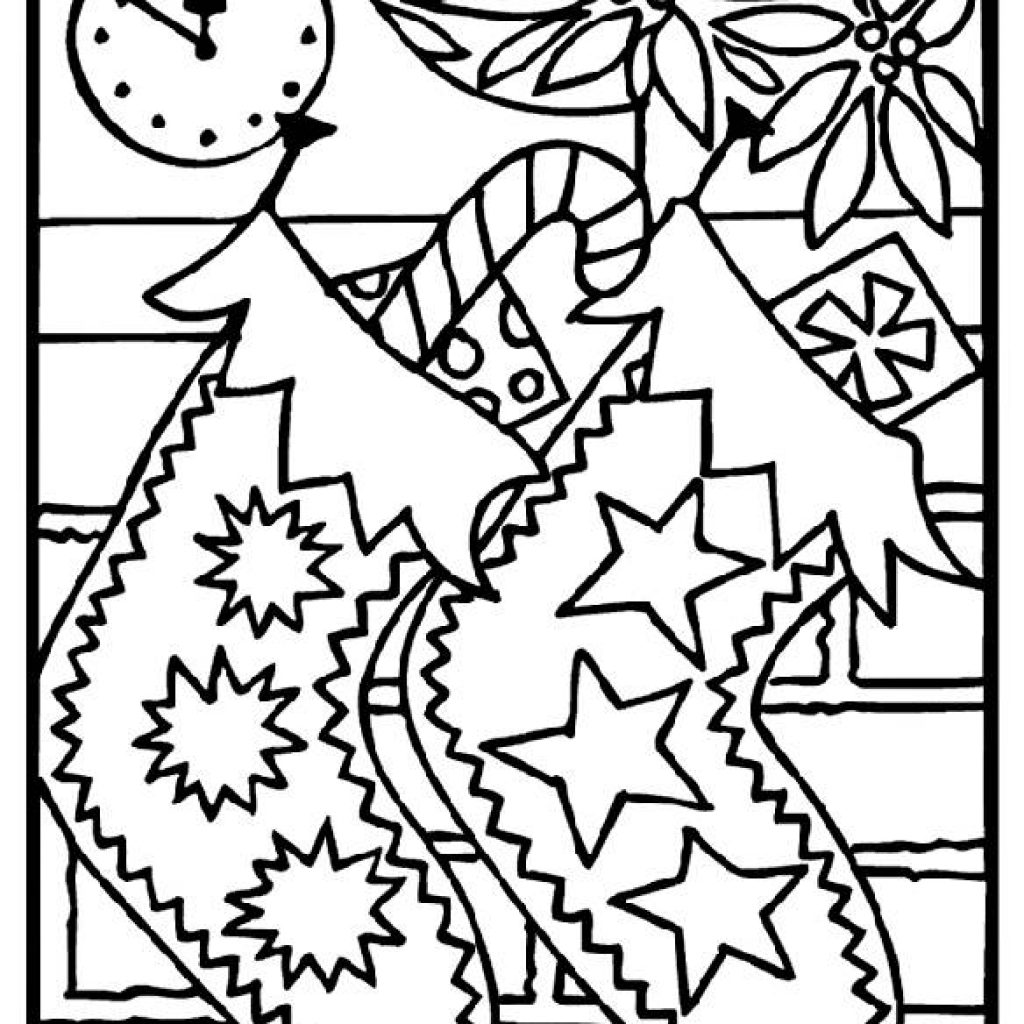 Christmas Coloring Printables Free With Colouring Sheets Acla Info