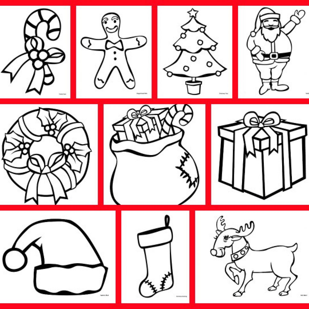 Christmas Coloring Printables Free With Pages Printable Gift Of Curiosity