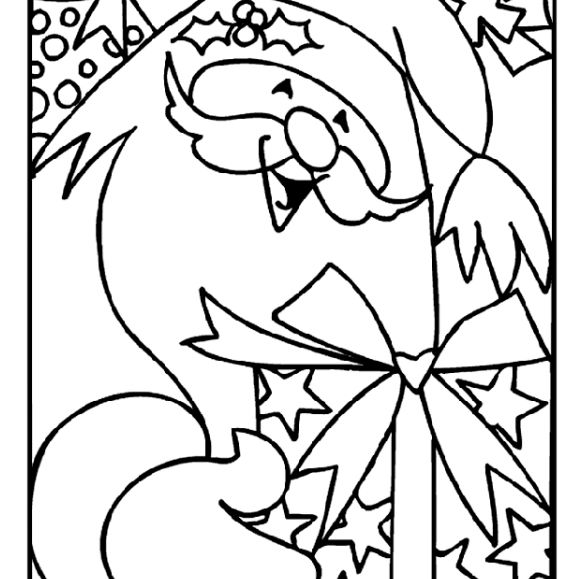 Christmas Coloring Printables Free With Printable Pages For Kids