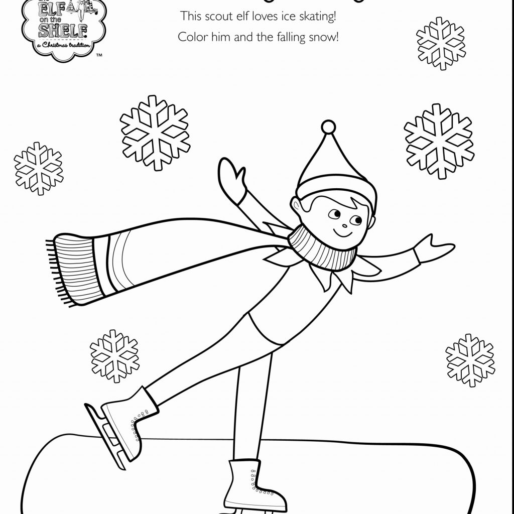 christmas-coloring-sheets-elf-with-pages-printable