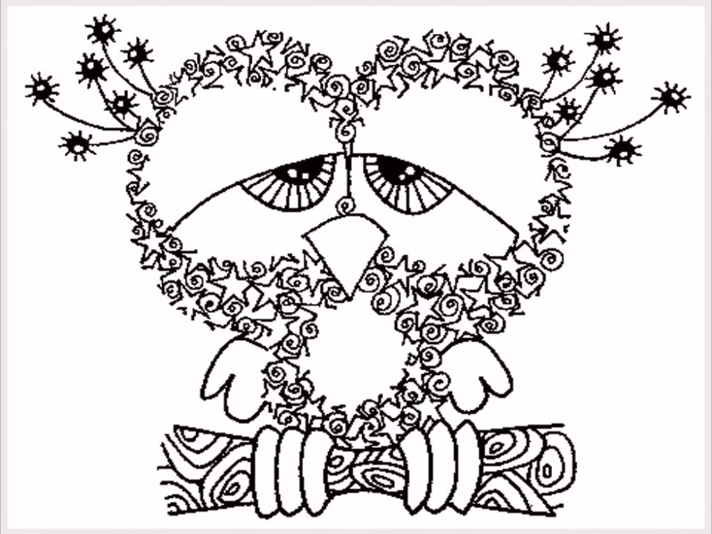 Christmas Coloring Sheets For Adults Pdf With Brilliant Decoration Pages 35