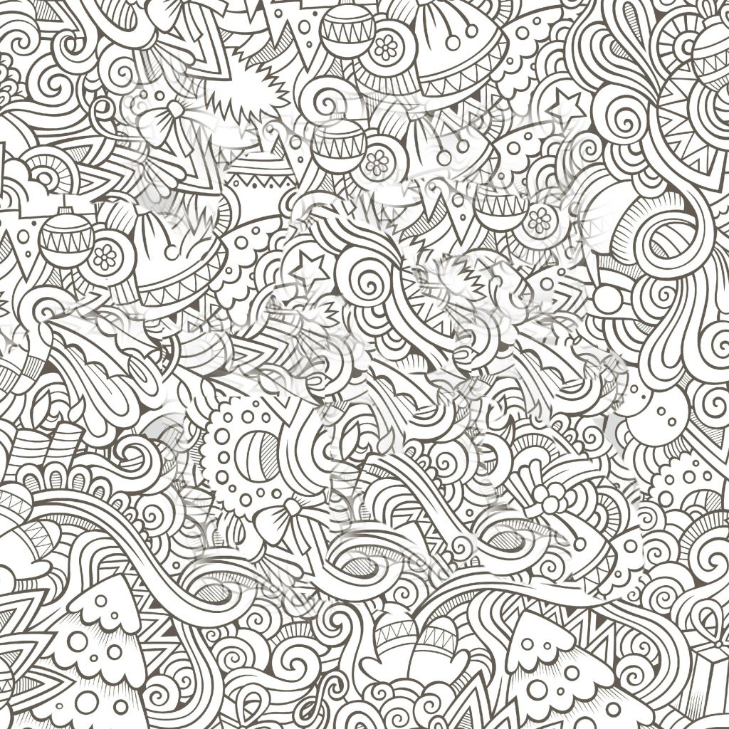 Christmas Coloring Sheets For Adults Pdf With Pages Gallery Free Books