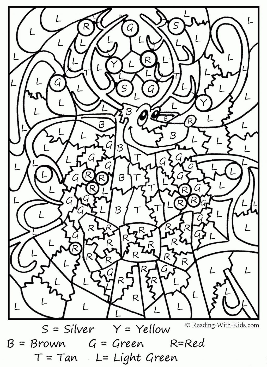 Christmas Coloring Sheets For Middle School With Collection Of Pages Students