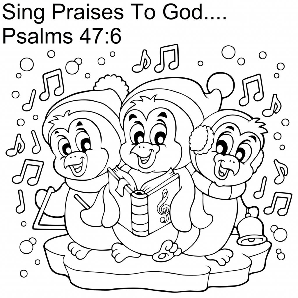 Christmas Coloring Sheets For Sunday School With Pages To Print Free Books