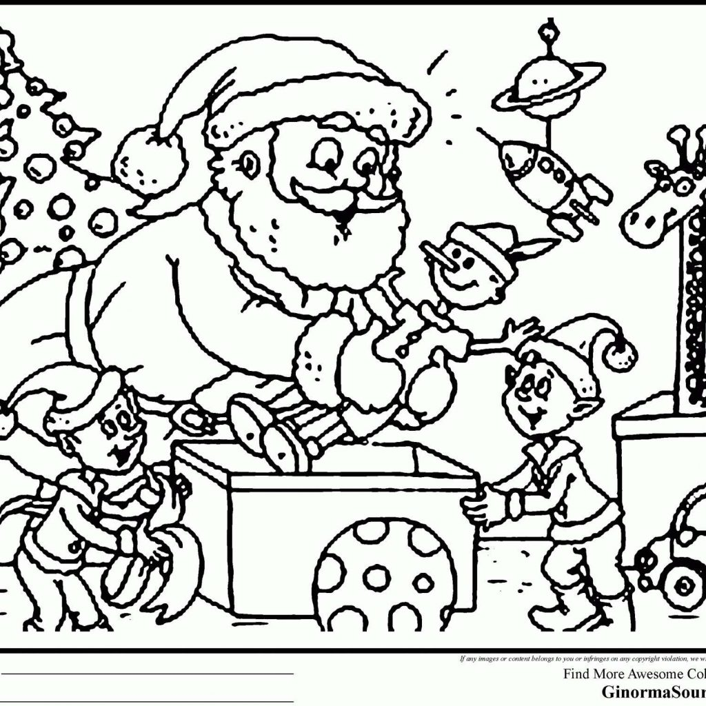 Christmas Coloring Sheets Pdf Free With 47 Pages Printable
