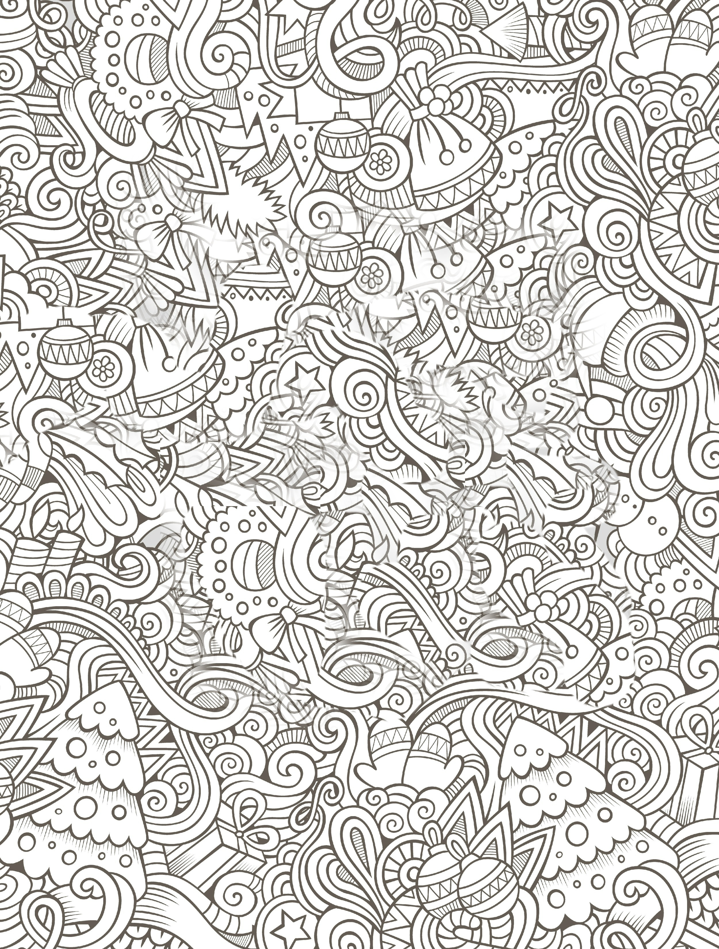 Christmas Coloring Sheets Pdf Free With Pages For Adults Download Books