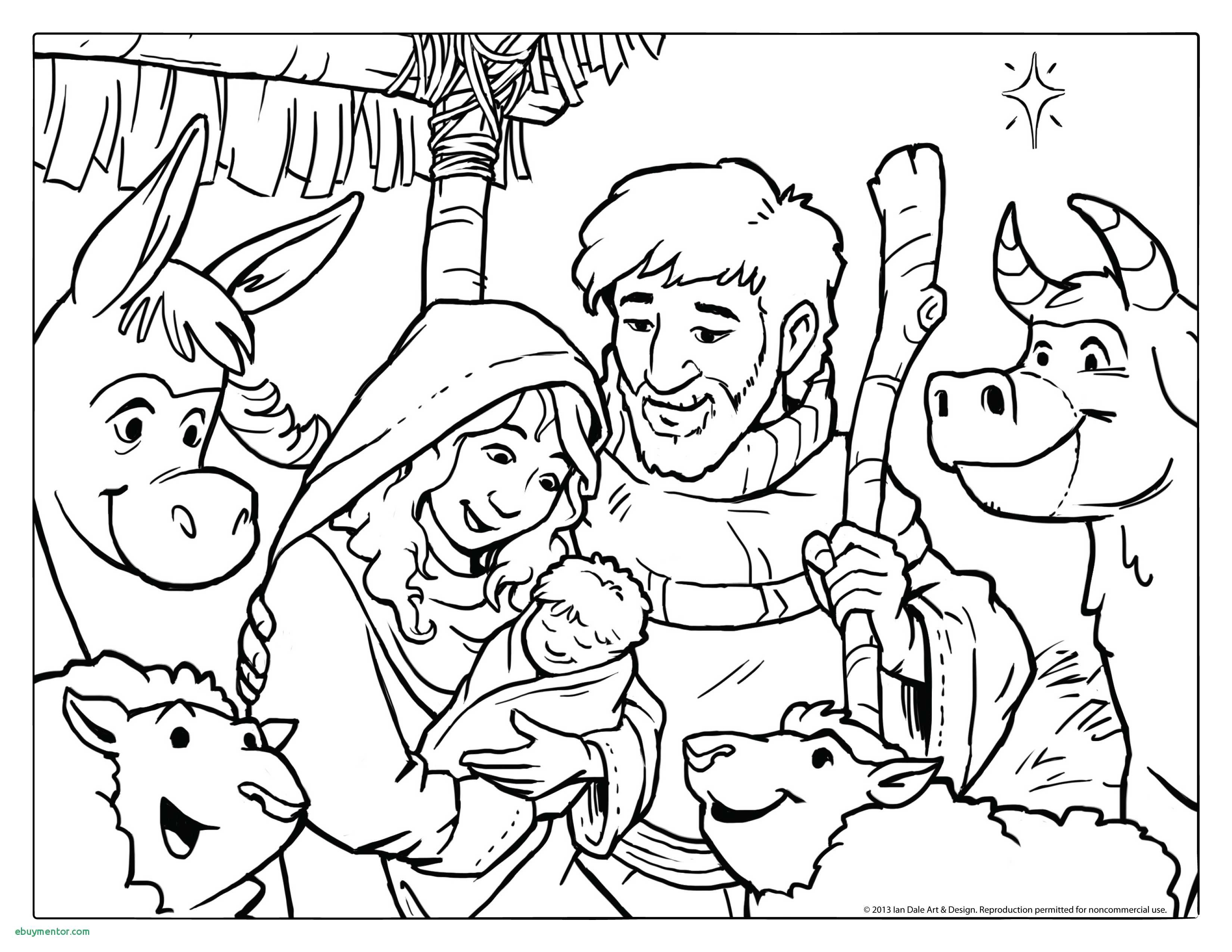 Christmas Coloring Sheets Pdf With Refrence Scene Drawing At