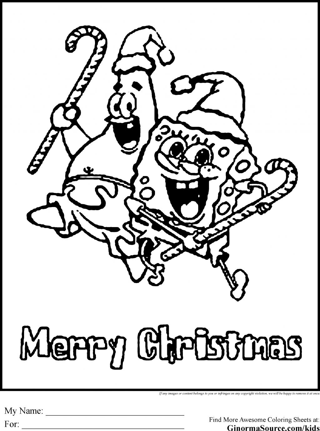Christmas Coloring Sheets That You Can Print With Best Of Merry Pages To And For Free