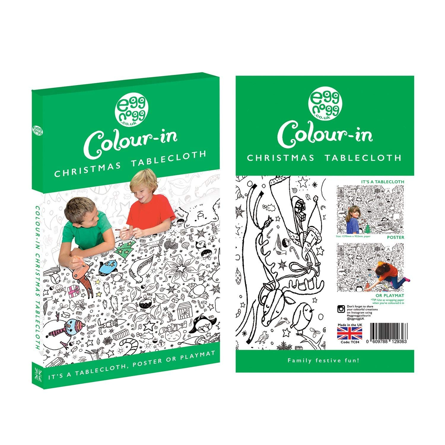 Christmas Coloring Tablecloth With Fresh Amazon Colour In