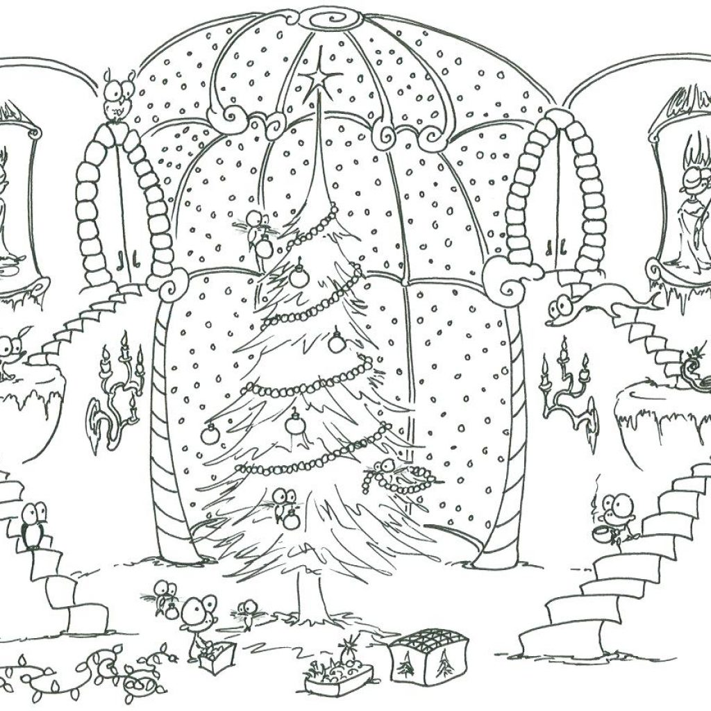 Christmas Coloring Templates With Collection Of Detailed Pages Download Them And