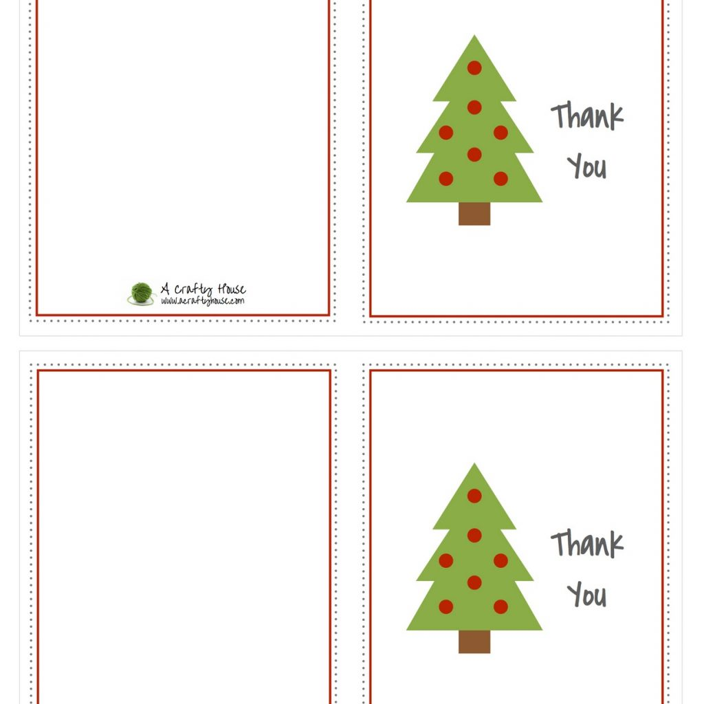 Christmas Coloring Thank You Cards With Ucap Natal