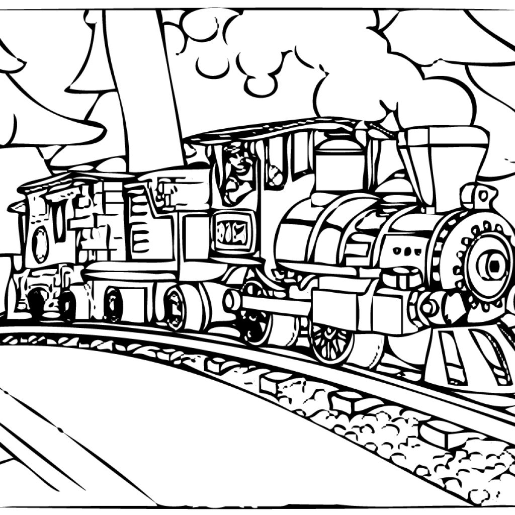 Christmas Coloring Train With Polar Express Pages Best For Kids