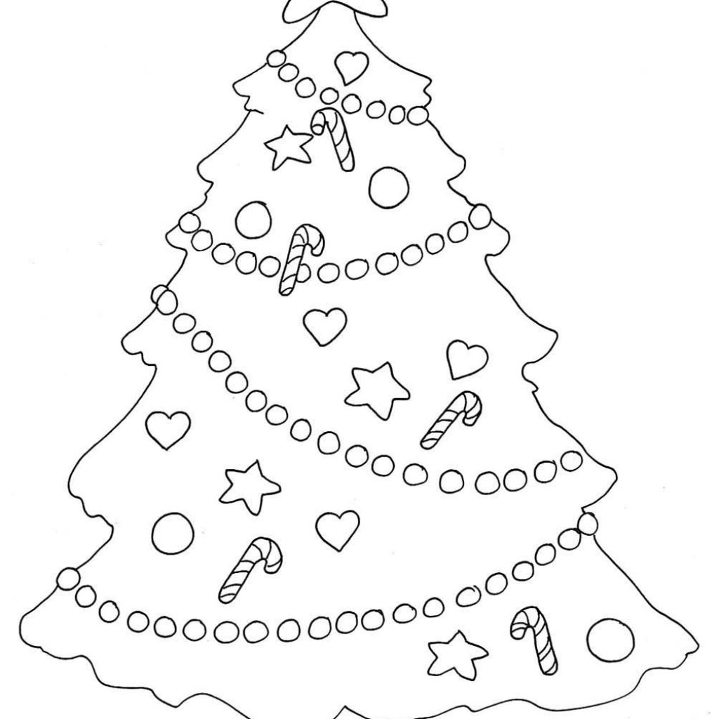 christmas-coloring-tree-with-clipart-colouring-pages-page-3