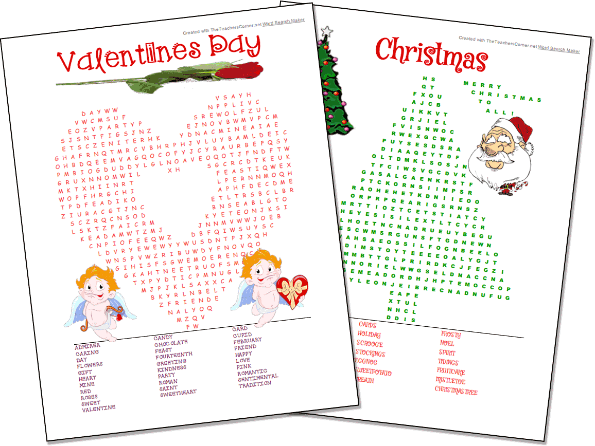 Christmas Coloring Word Search With Maker Custom Professional Looking Free