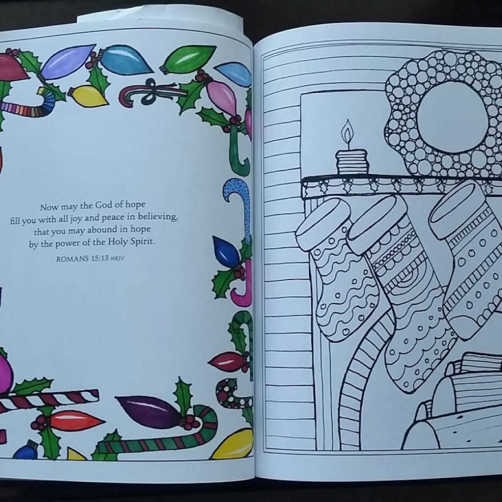 Christmas Coloring Words With Reviews From The Heart A Very Blessed Book