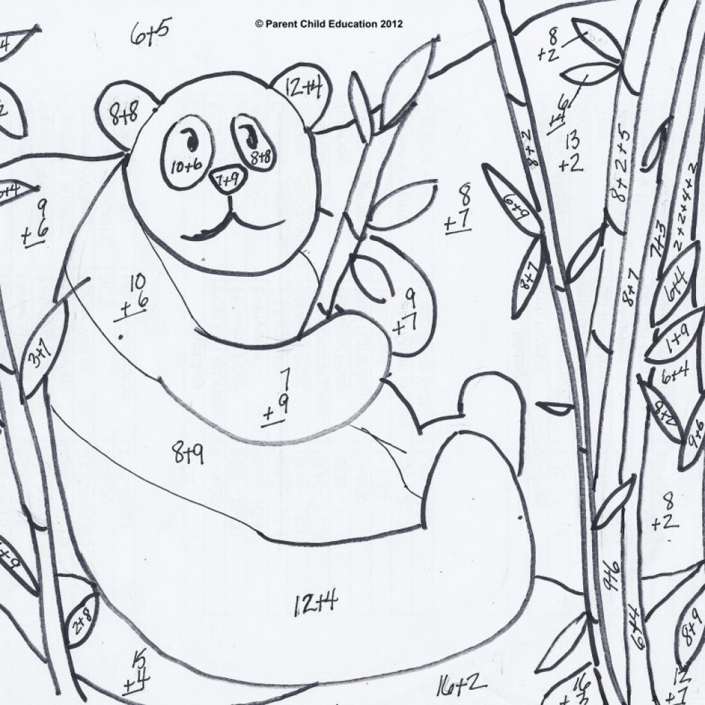 Christmas Coloring Worksheets For 1st Graders With Grade Best Pages Rd Math