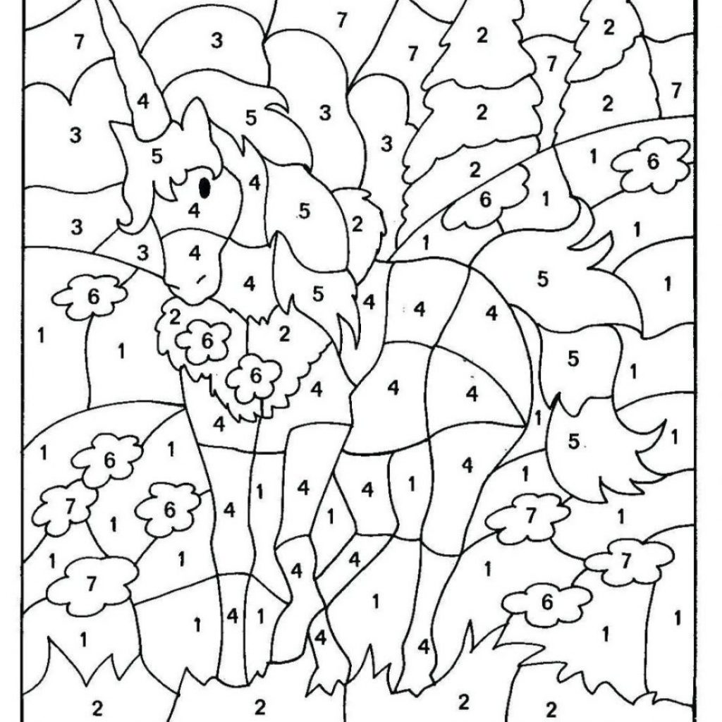 Christmas Coloring Worksheets Kindergarten With Pages Color Number Sheets Printable