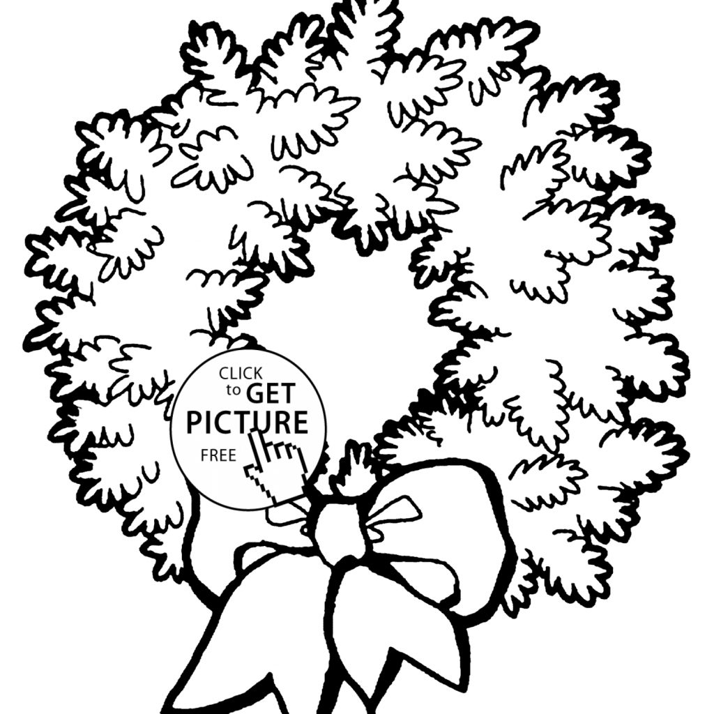 christmas-coloring-wreath-with-unique-pages-gallery-free
