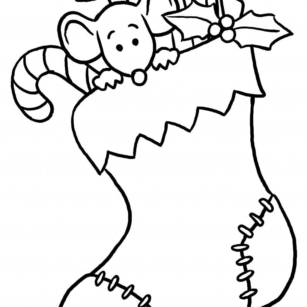 Christmas Colouring In Pages For Preschoolers With Coloring Preschool Free Library