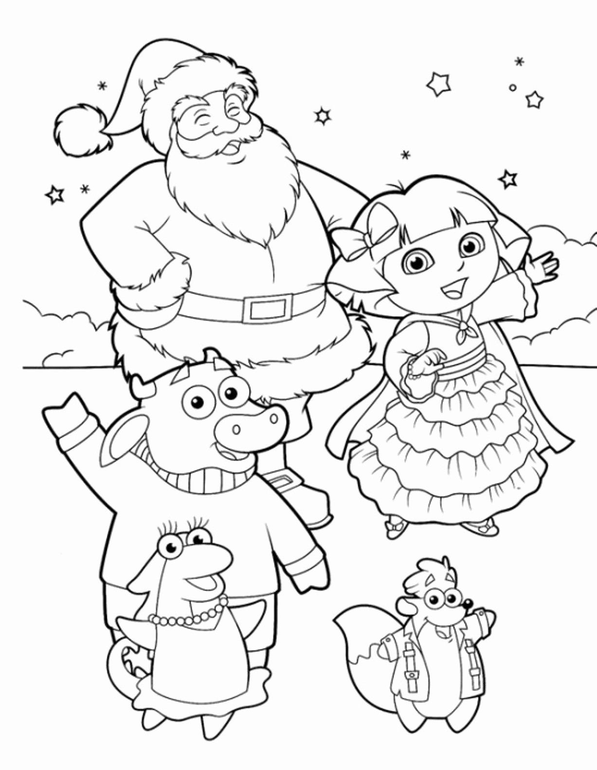 Christmas Colouring In Pages Pdf With Collection Of Coloring Free Download Them And