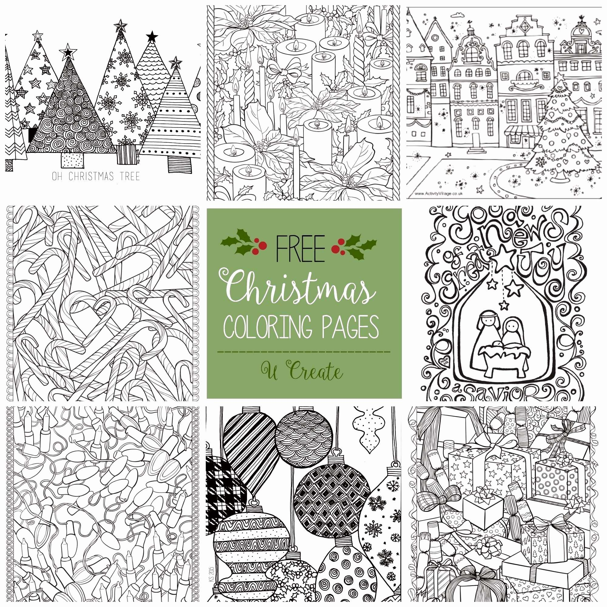 Christmas Colouring In Pages Twinkl With 50 Fresh Printable Arts And Crafts CrushUs