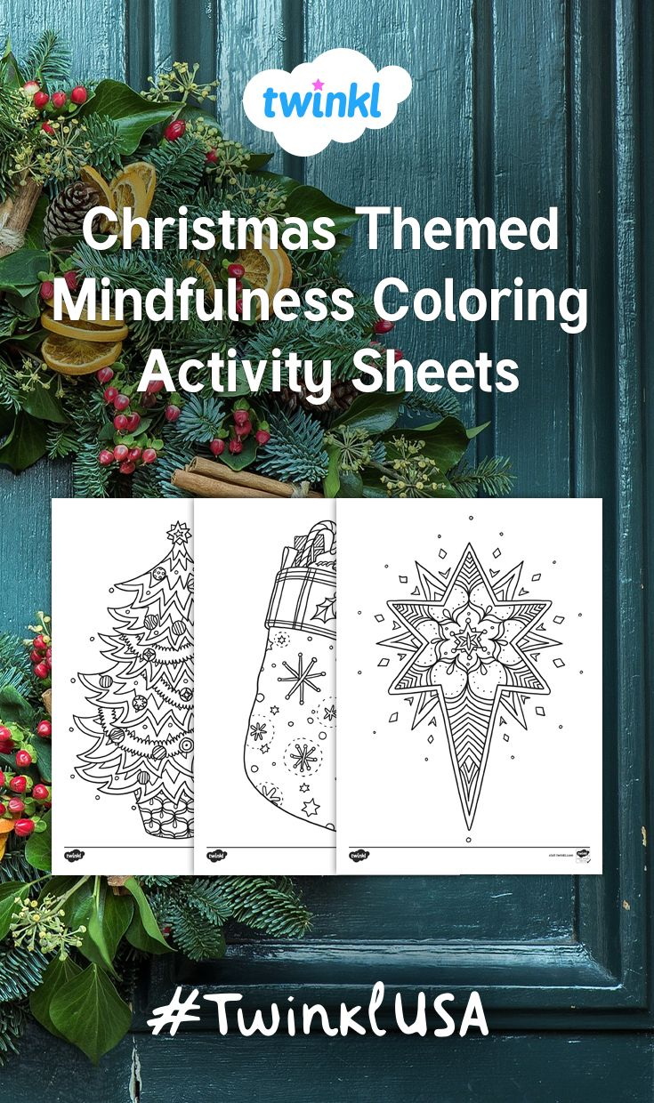 Christmas Colouring In Pages Twinkl With 55 Best Images On Pinterest Math Coloring And