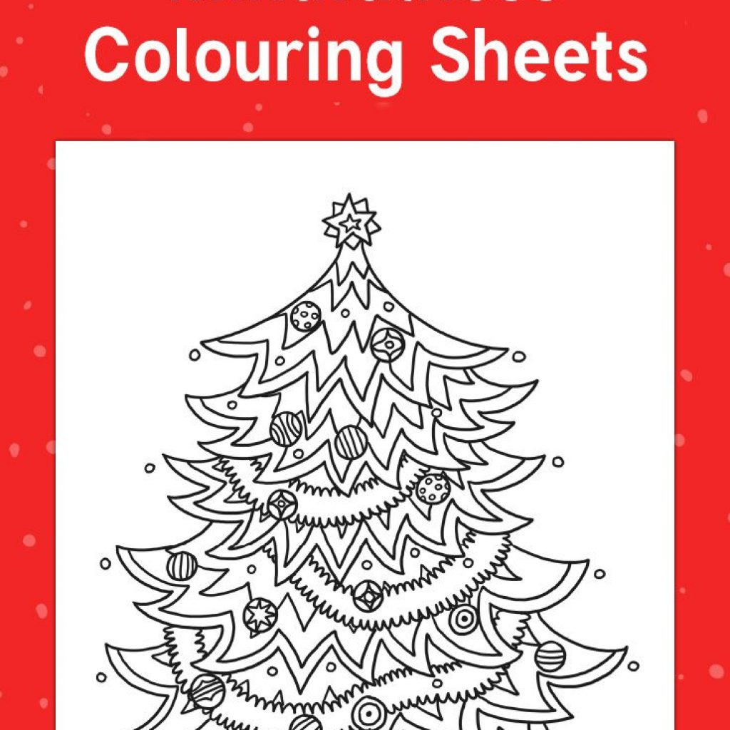 Christmas Colouring In Pages Twinkl With Themed Mindfulness Sheets For Your Children To