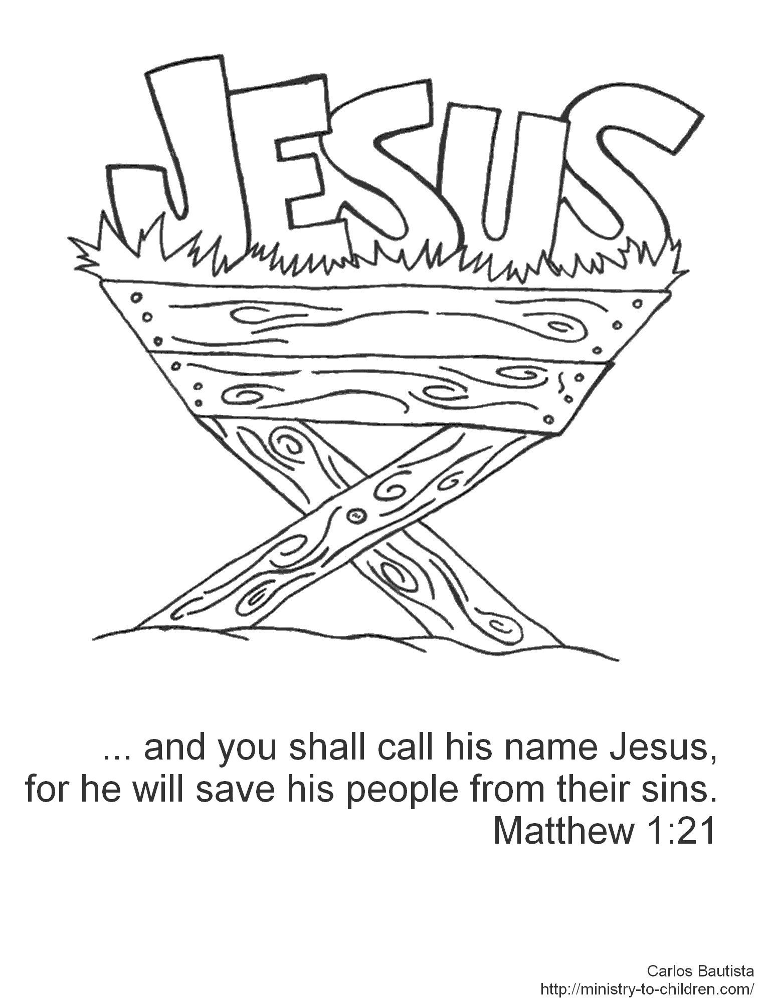 Christmas Colouring Pages Bible With Verses Jesus Coloring Journaling Pinte