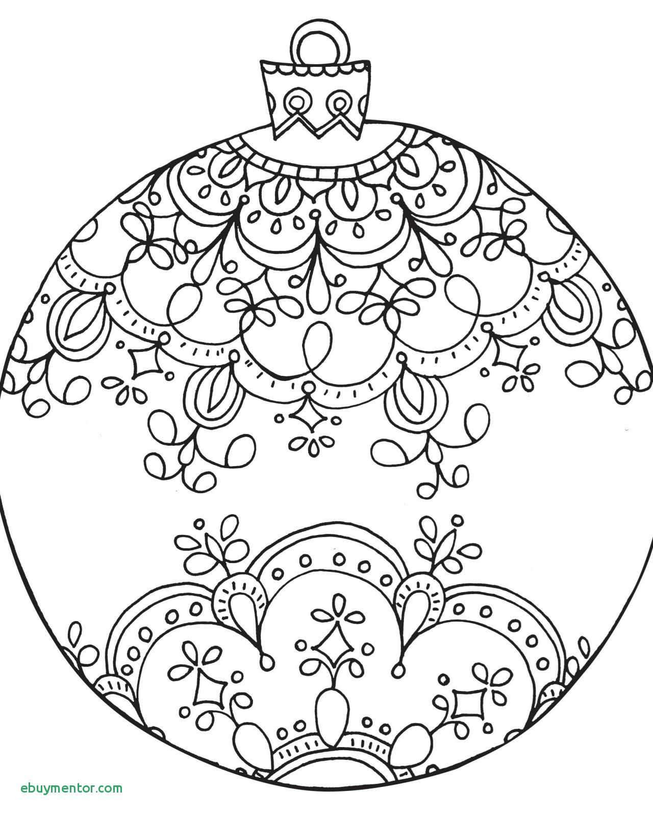 Christmas Colouring Pages Decorations With Printable Coloring Page For Kids