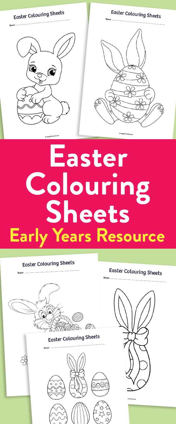 Christmas Colouring Pages Eyfs With Early Years Sheets For Easter