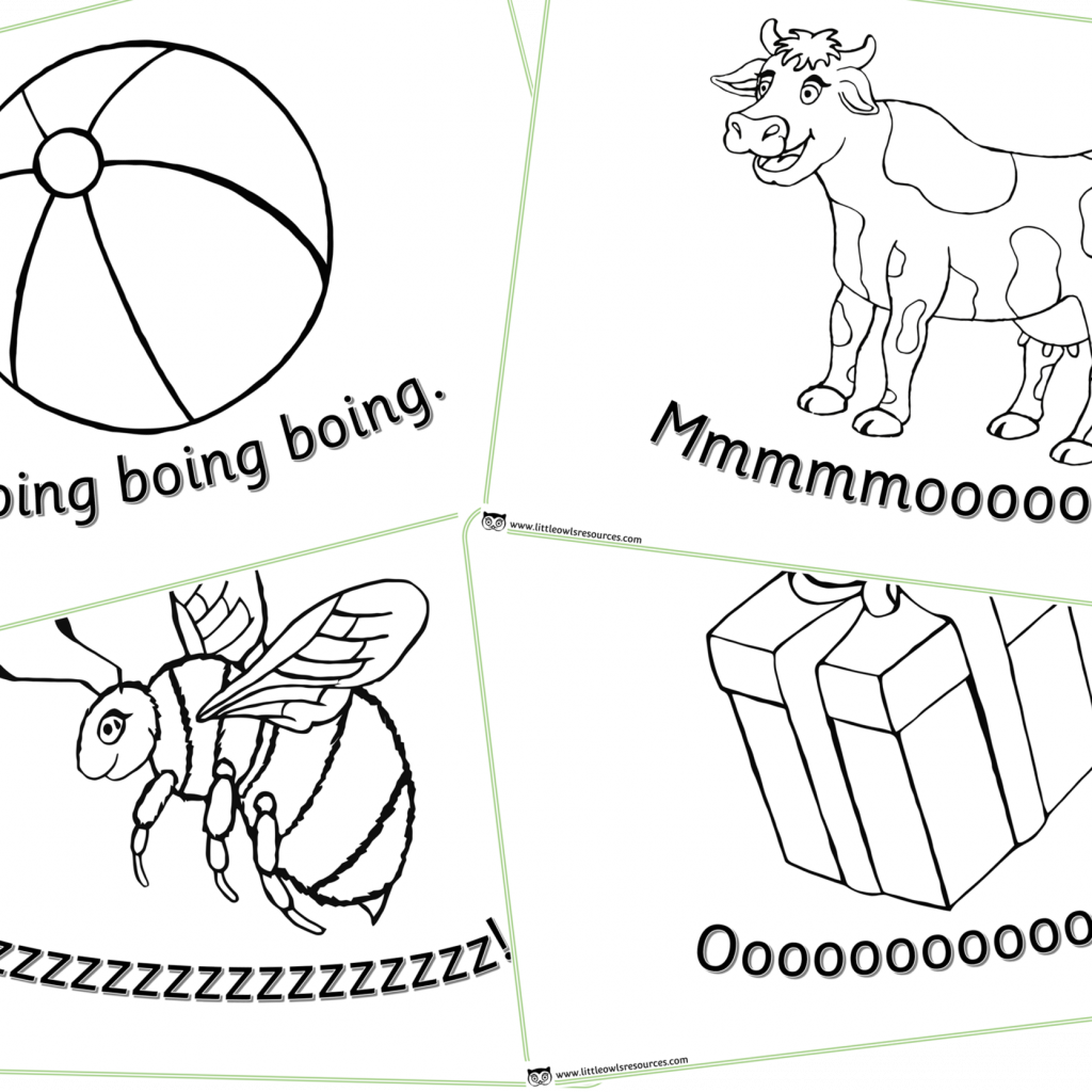 Christmas Colouring Pages Eyfs With FREE Phase 1 Sounds Early Years EYFS Resource Little