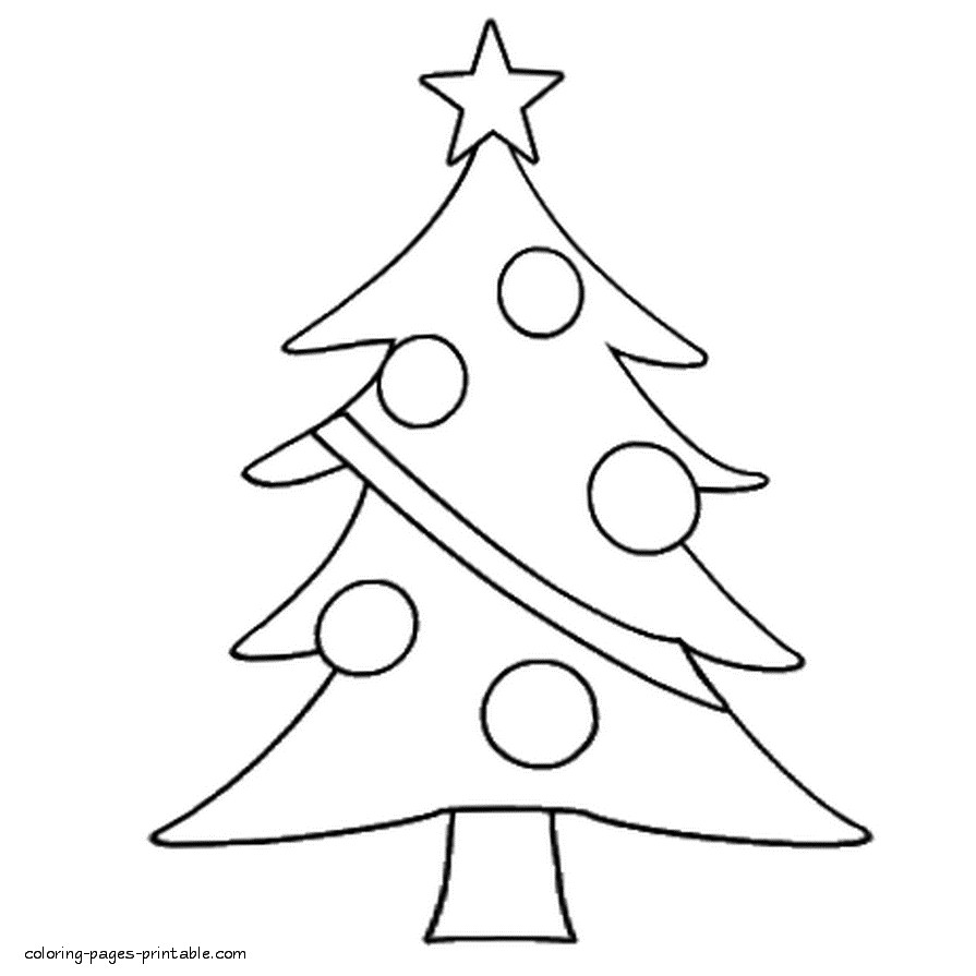 Christmas Colouring Pages For Kindergarten With Easy Coloring Toddlers Archives My Localdea