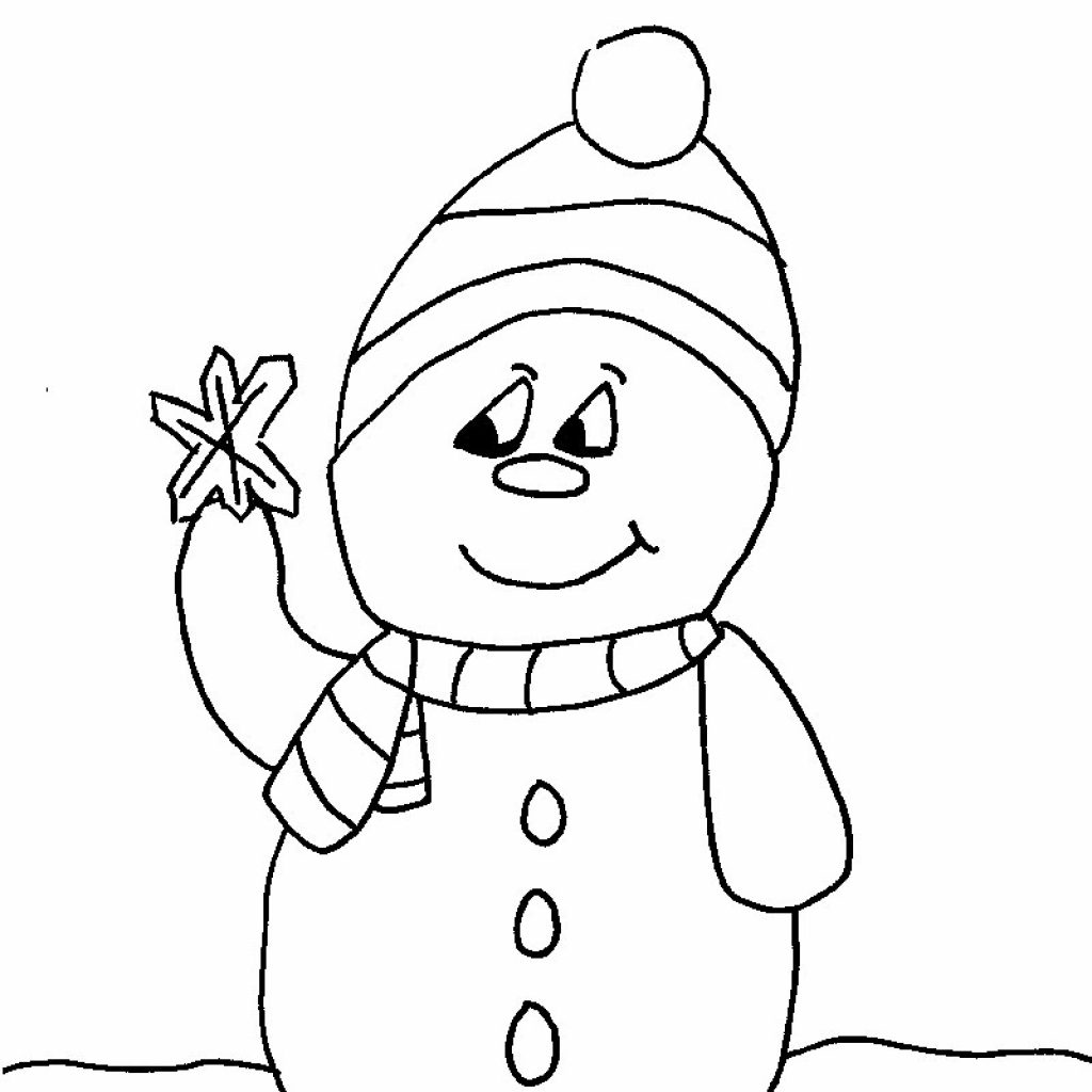 Christmas Colouring Pages For Preschoolers With Free To Print And Colour