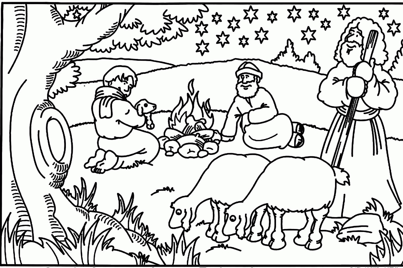 Christmas Colouring Pages For School With Awesome Coloring From The Bible Collection Free