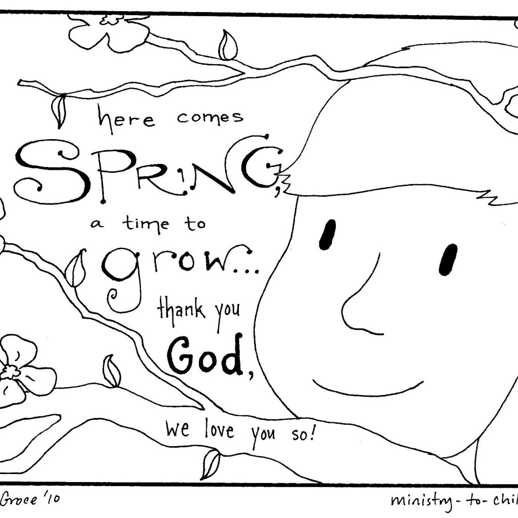 Christmas Colouring Pages For Sunday School With Free Printable Coloring