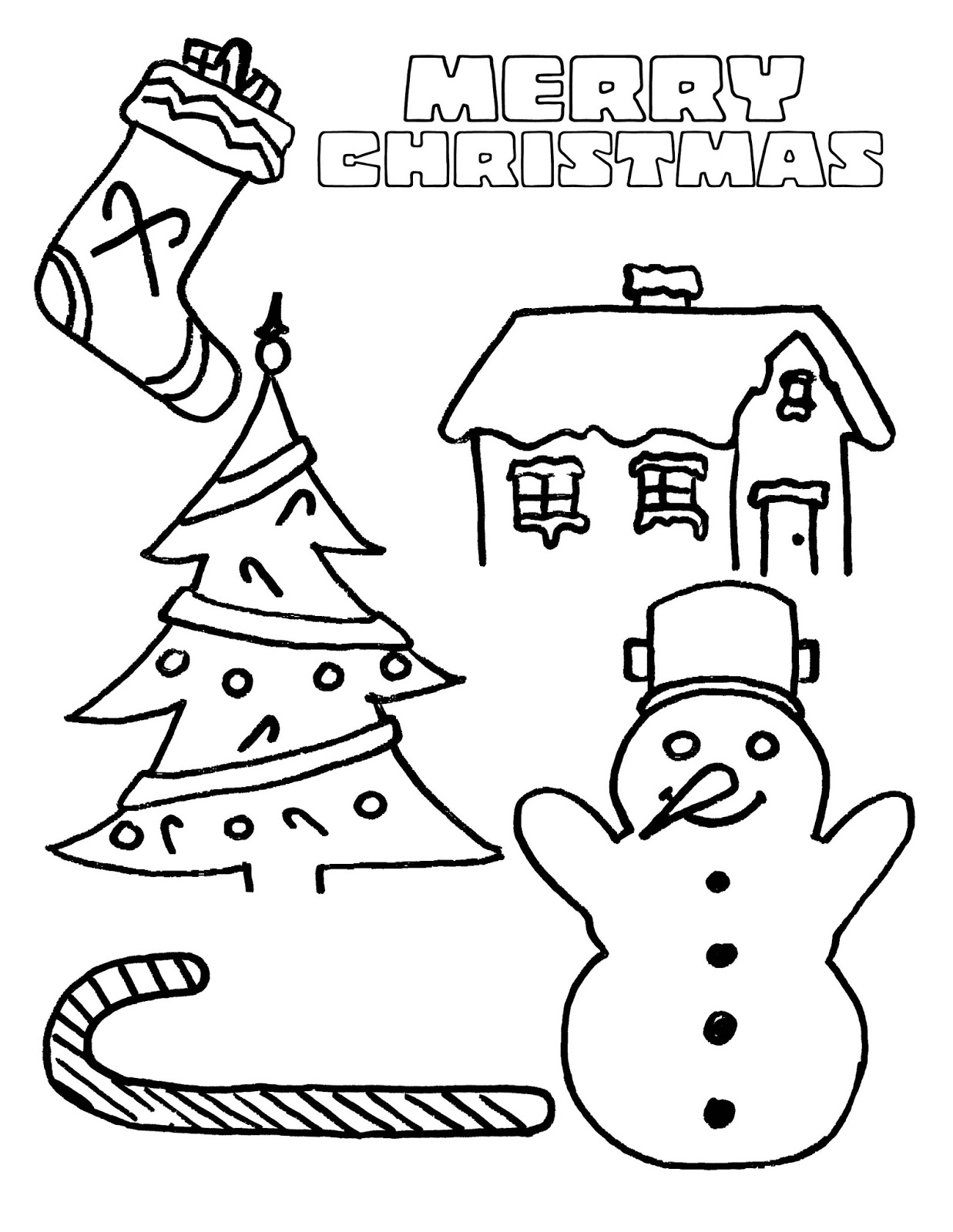 Christmas Colouring Pages Kindergarten With Coloring Snowman Free And Printable