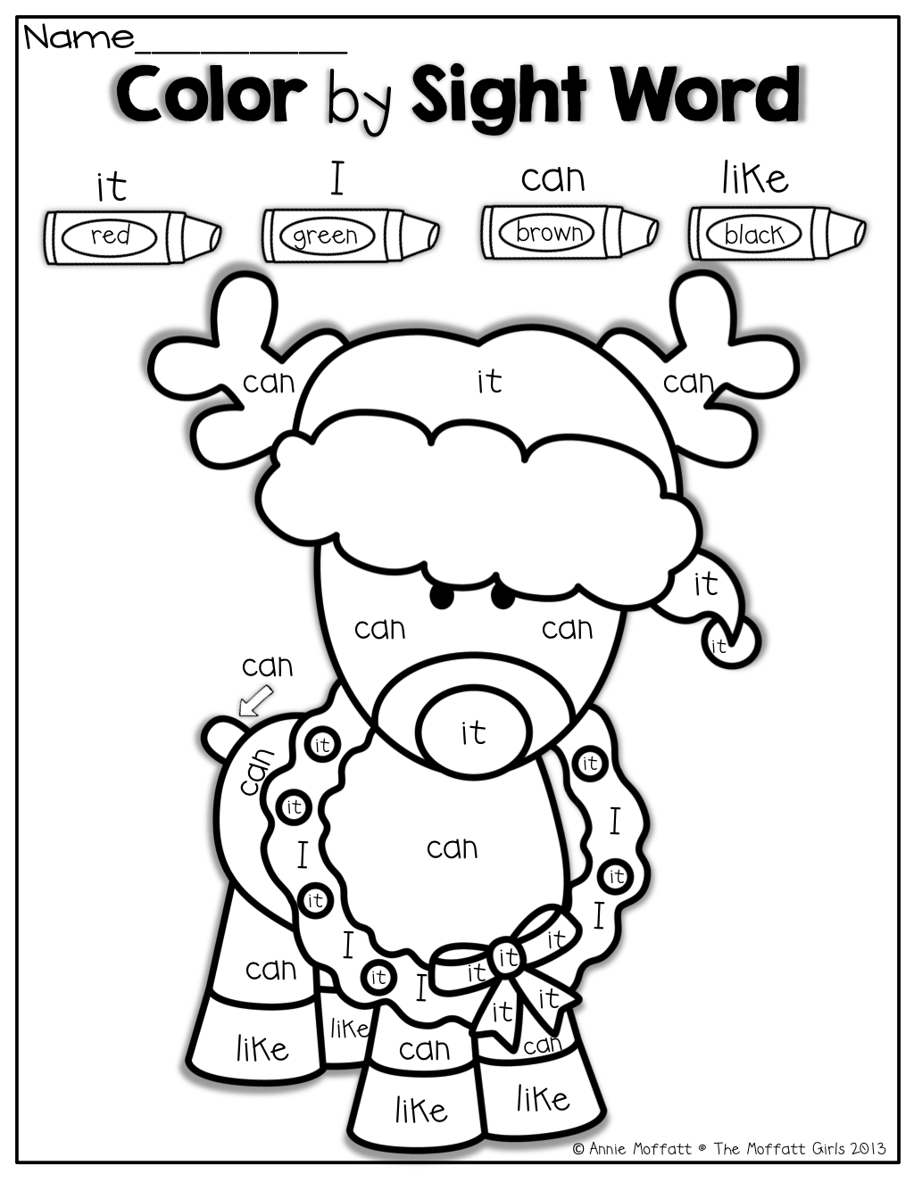 Christmas Colouring Pages Kindergarten With Worksheets Fordergarten Printables Preschoolers Free