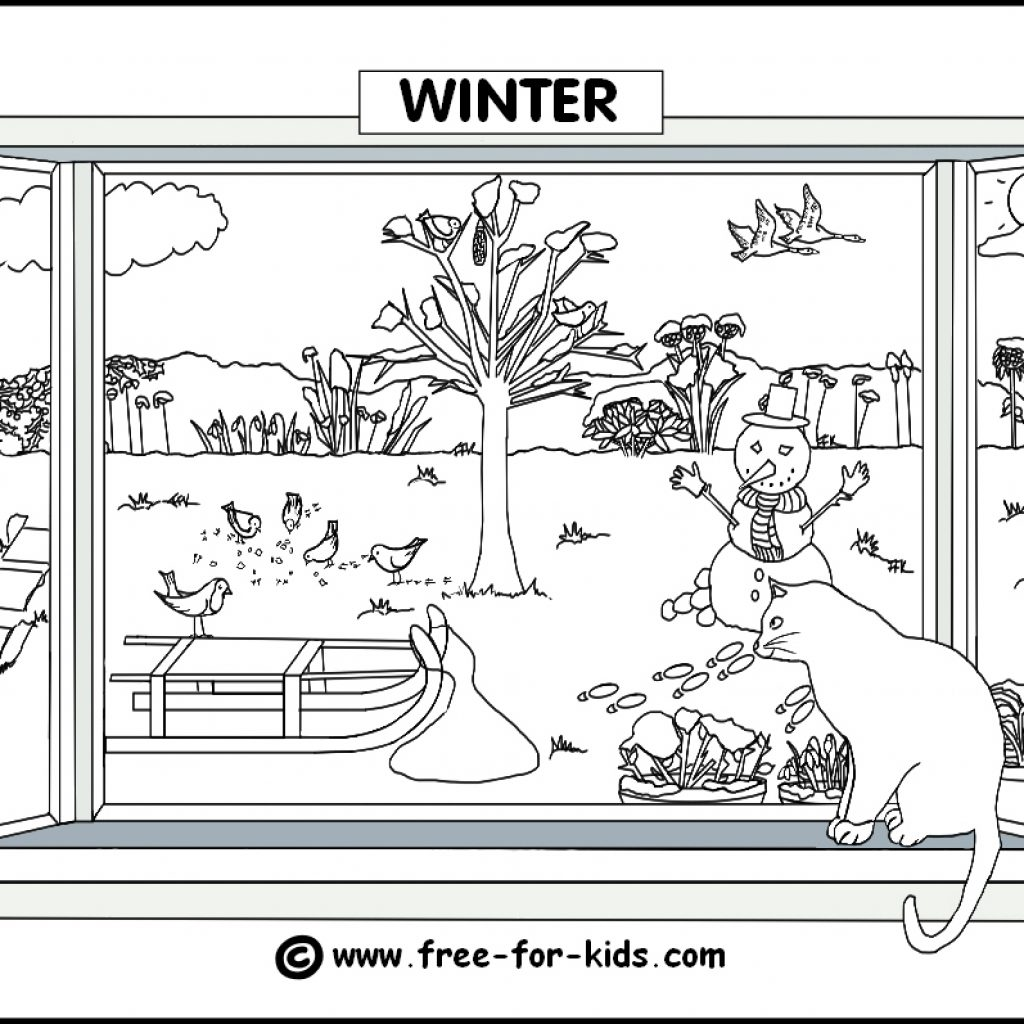 Christmas Colouring Pages Ks2 With Seasons